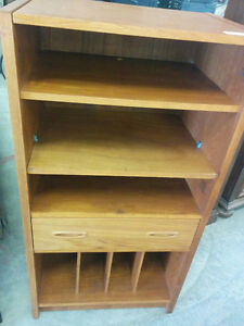 TEAK CABINET WITH DRAWER