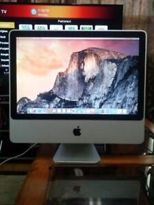 "Apple iMac All in One 20"" inch 4gig Ram 250gb Hard Webcam $220 Only"