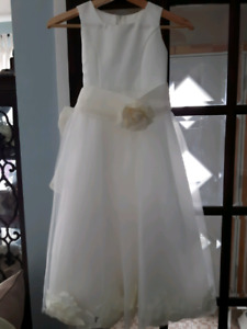 Ivory flower girl dress / Robede bouquetiere ivoire