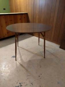 Mid century atomic dining table