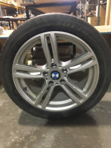 BMW winter tires with rims 245/45 R18