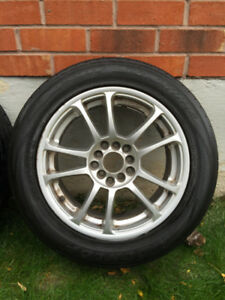 16 Inch 5Zigen Inperio Rims For Sale