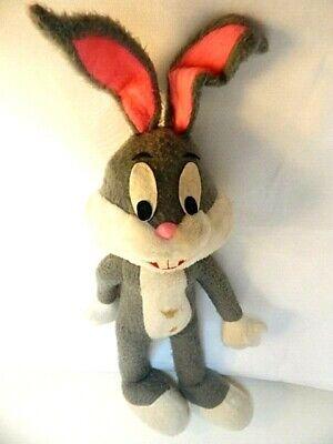 Vintage Bugs Bunny Stuffed Rabbit Poses Felt Eyes Teeth 20