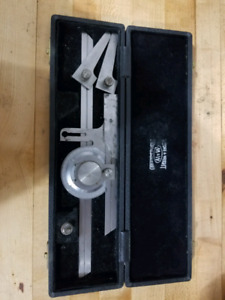 Vernier protractor more and wright