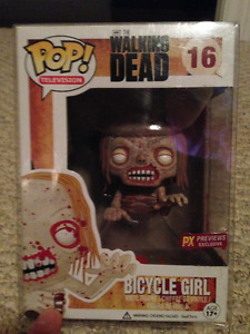 Bicycle Girl Pop!  PX previews exclusive (Sticker) (Bloody)