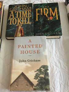 Hard cover books - John Grisham West Island Greater Montréal image 1