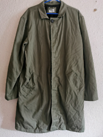 Green, military jacket size M pull & bear
