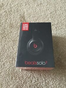 Beats solo 2 headphones factory sealed! Authentic
