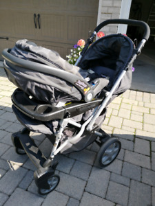 Peg Perego Uno Stroller and Carseat sets