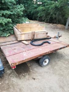 Tilting trailer for sale