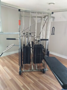 Universal Exercise Machine | Weights | Bench Press
