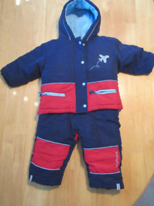2 Piece Kushies Snowsuit 18 Months