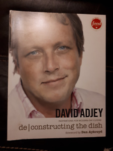 David Adjey - Deconstructing the Dish signed cookbook -