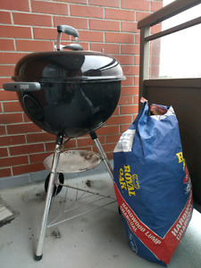 Small Portable Charcoal Barbecue