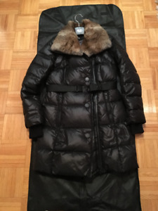 Rudsak Warmest Winter Down Parka with Rabbit fur