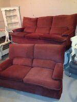 Divan / sofa / canapé à vendre (2 places et 3 places)