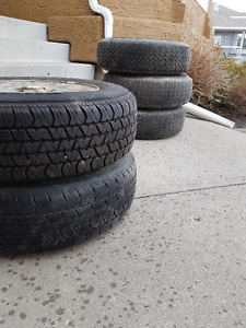 tires and rims for sale (five)