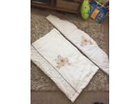 Cot bumper and blanket (M&Co)