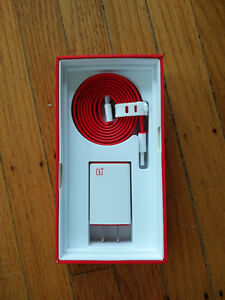 Brand new OnePlus power adapter and cable