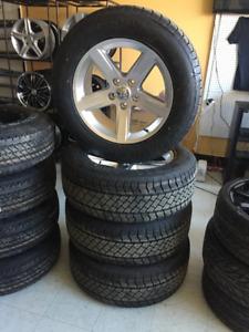 """Un kit Mags 20"""" DODGE RAM (REPLIKA) et pneus 275/60R20 NEUFS"""