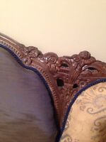 Very Pretty Antique couch with updated upholstery
