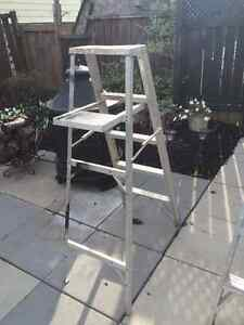5 foot aluminum step ladder (2 available) Peterborough Peterborough Area image 1