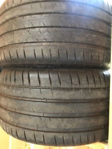 Pair of Brand New 295 30 20 --- Michelin Pilot 4s