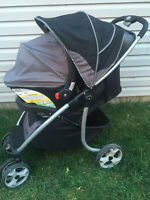 Safety 1st onboard car seat and stroller