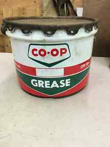 Grease Oil Tins Pail