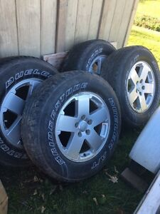"""18"""" JEEP Rims and Tires"""