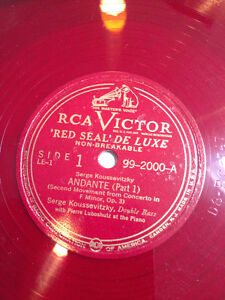 """Red Vinyl - Serge Koussevitzky """"Masters of the Double Bass"""" Kitchener / Waterloo Kitchener Area image 4"""
