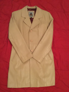 Aldo Long Leather Jacket