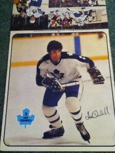 1979-80 Toronto Maple Leafs calender / posters. Man cave Peterborough Peterborough Area image 3