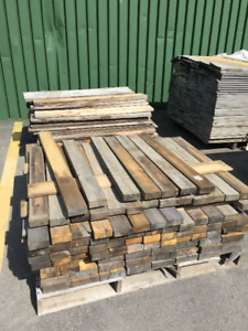 2x4x4 Weathered Pine PILE - LUMBER CLEAROUT