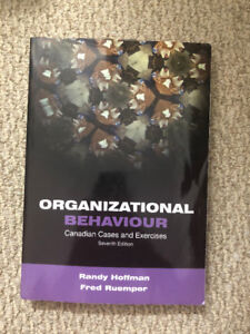 Organizational Behaviour: Canadian Cases and Exercises