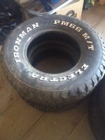 TIRES IN GOOD CONDITION