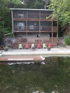 Charleston Lake Cottage Rental- 90 minutes from Ottawa
