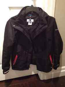 Columbia Bugaboo Interchange Winter Jacket girls Size 10-12 Stratford Kitchener Area image 2