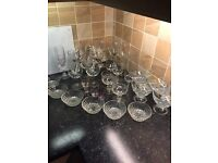 Large Box Of Glassware (31 Pieces)