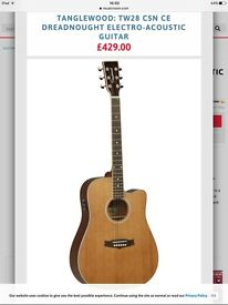 Tanglewood Acoustic Guitar - Mid to High Range