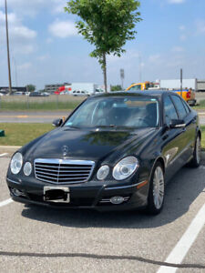 2009 MERCEDES E300 FULLY LOADED WITH NAVI LOW KILOMETER ONEOWNER