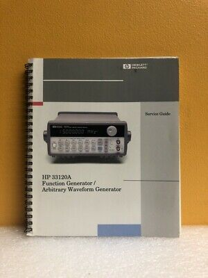 Hp 33120-90013 33120a Functionarbitrary Waveform Generator Service Guide