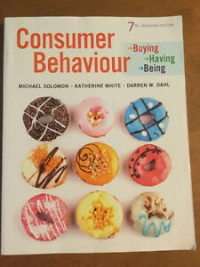 Textbook: Consumer Behaviour (7th Canadian Edition)