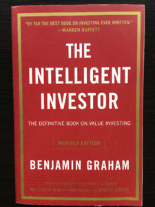 The intelligent investor by Benjamin Graham book FOR SALE at $10