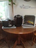 Keruig coffee maker slow cooker crock pot and showtime rotisseri
