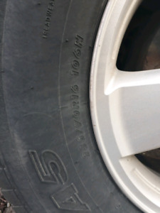 Need 4 pcs of 235 70/R16 106H for Ford Escape