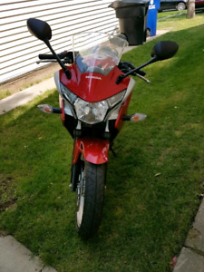 2011 honda cbr low km