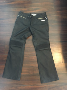 Womens ICON Leather Motorcycle Pants