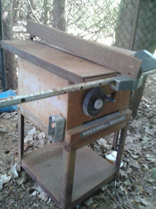 Rockwell Table and Guard for Tablesaw