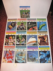 13 hard cover books - A Child's First Library of Learning